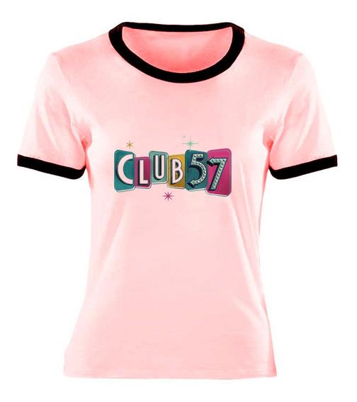 Remera Club 57 Talle Niño Y Adulto Ringer