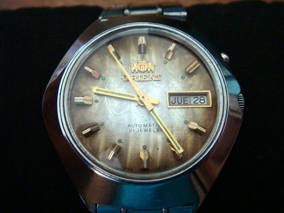 Clásico Reloj Orient Automatic. Colección Años 70s.