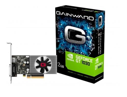 Imagem 1 de 3 de Placa De Video Nvidia Gt 1030 2gb Ddr4 64bits Gainward