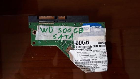 Placa Para Disco Duro Western Digital 500gb Etiqueta Azul