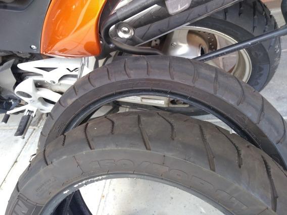 2 Pneu Michelin Anakee 150/70 R17e 120/70 R19