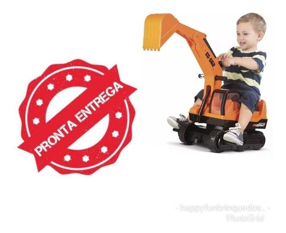 Trator Escavadeira Infantil Giant Roma Promoção