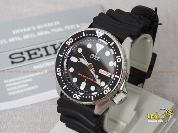 Relógio Seiko Skx007k1 Skx007k Scuba Diver 46mm Automático