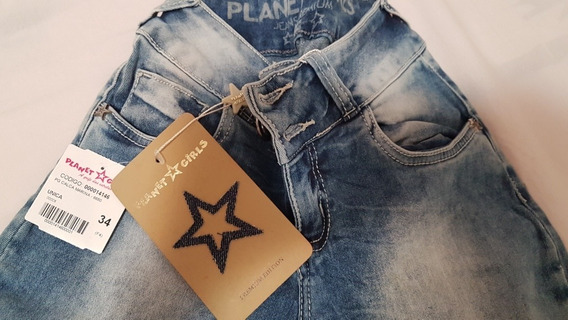Calça Jeans Planet Girls Nova!!! Linda!!!