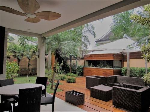 Casa De Condomínio 4 Suítes No Alto Da Boa Vista - 375-im119636