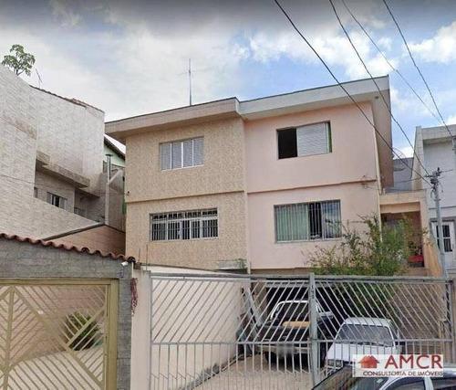 Sobrado Com 3 Dormitórios À Venda Por R$ 650.000 - Vila Paulo Silas - Vila Ema - Sp - So0730