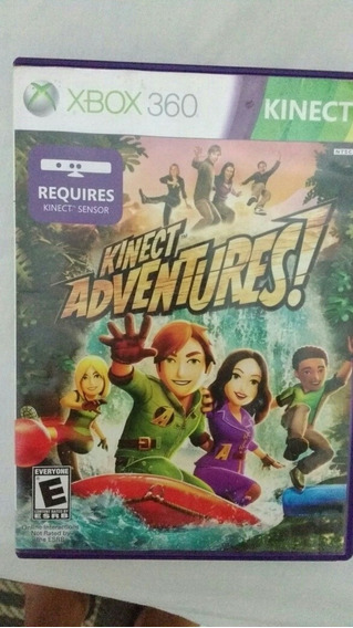 Dvd Xbox Kinect Adventures Original