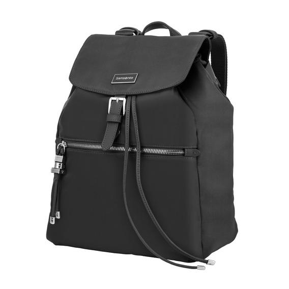 Cartera Karissa Backpack 1 Pocket Black Mediana Samsonite