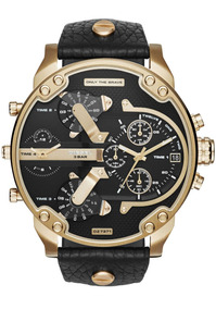 Diesel - Reloj Dz7371 Mr. Daddy 2.0 Two Hand Leather Hombre
