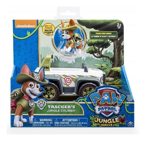 Paw Patrol, Jungle Rescue, Tracker's