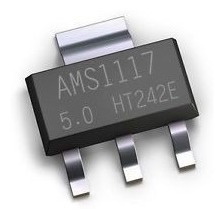 10 Unidades Regulador Tensao Ams1117 5.0v