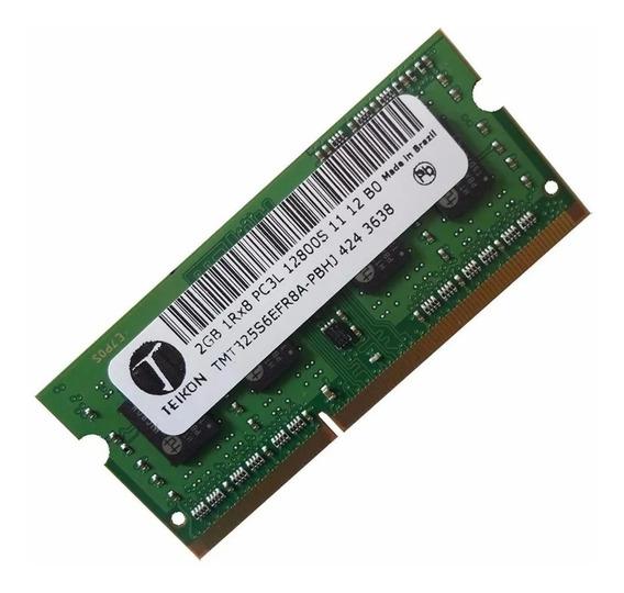 Memória Teikon Ddr3 2gb Pc3l-12800s Garantia