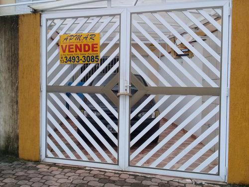 Imagem 1 de 3 de Casa Com 2 Dorms, Solemar, Praia Grande - R$ 240 Mil, Cod: 2254 - V2254