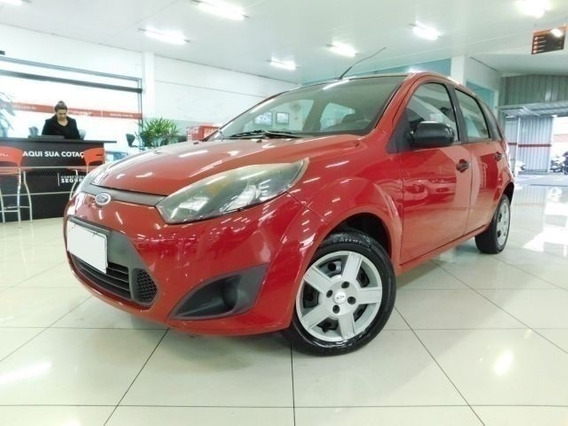Ford Fiesta Hatch 1.0 Vermelho Mpi 8v Flex 4p
