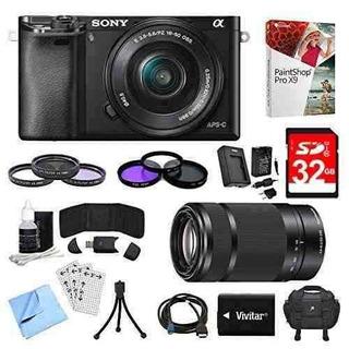 Sony Alpha A6000 24,3 Mp - Cámara De Fotos Up Shop