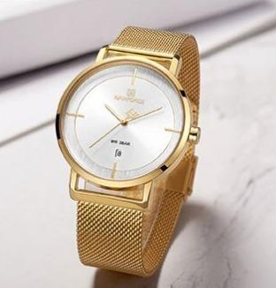 Relógio Feminino Naviforce 3009 Luxo Frete Grátis 12xs/juros