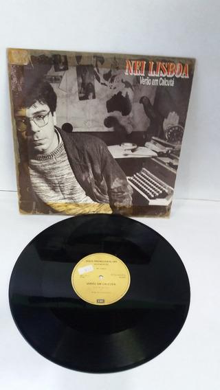 Lp Nei Lisboa /verão Em Calcutá / Disco Mix / Ano 1987