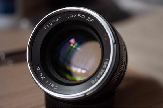 Carl Zeiss Planar 50mm 1.4 Nikon Impecável D750 D850 Fm2 Z6