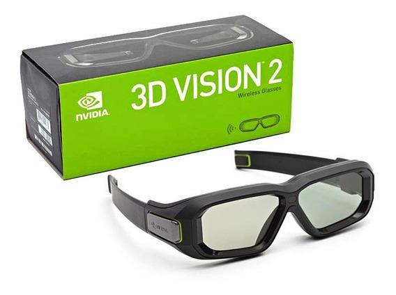 Oculos Nvidia 3d Vision 2 - Oculos Extras Novo - Raro Em 12x