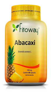 Abacaxi Fitoway 500mg - 60 Cáps