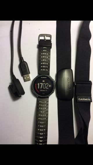 Reloj Gps Garmin Forerunner 630, Con Banda Hmr3, Semi Nuevo