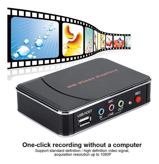 Hd Game Video Capture 1080p Hdmi/ypbpr Grabadora Para X Box