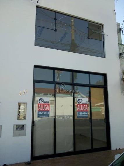 Salão Para Alugar, 34 M² Por R$ 1.800/mês - Centro - Indaiatuba/sp - Sl0226
