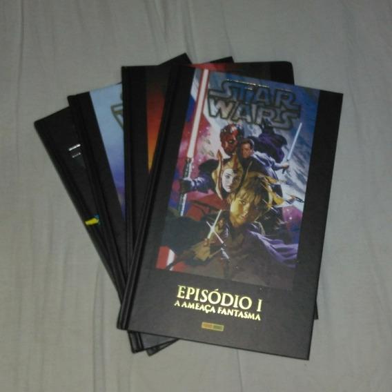 Graphic Novels De Star Wars + Capacete Darth Vader