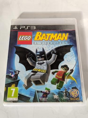 Lego Batman Ps3 Midia Física Original Seminovo