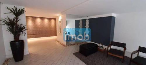 Imagem 1 de 24 de Apartamento À Venda, 98 M² Por R$ 410.000,00 - Campo Grande - Santos/sp - Ap1086