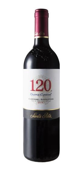 Vinho Ch 120 Santa Rita Cabernet Sauvignon Garrafa 750ml