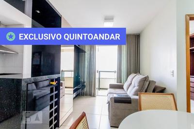 Apartamento No 16º Andar Mobiliado Com 1 Dormitório E 1 Garagem - Id: 892903427 - 203427