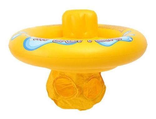 Boia Com Fralda Infantil Baby Float Inflável Para Bebês