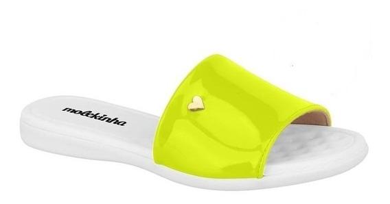 Chinelo Infantil Slide Neon Molekinha 2104406