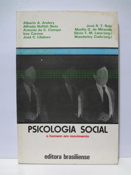Psicologia Social O Homem Em Movimento A. Andery E Outros