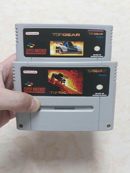 Jogos De Super Nintendo Top Gear 1 Top Gear 2