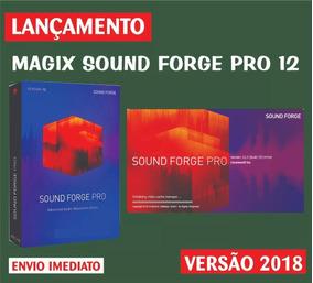 Magix Sound Forge Pro V12 64-bit - Facil Instalação + Brinde