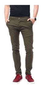 Haul, Pantalon De Vestir Corte Chino. Jeans, Gabardina.