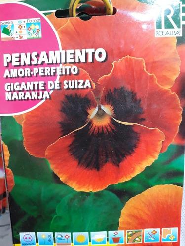 Imagen 1 de 6 de Semillas Rocalba Sobres Flores Diferentes Variedades Envios