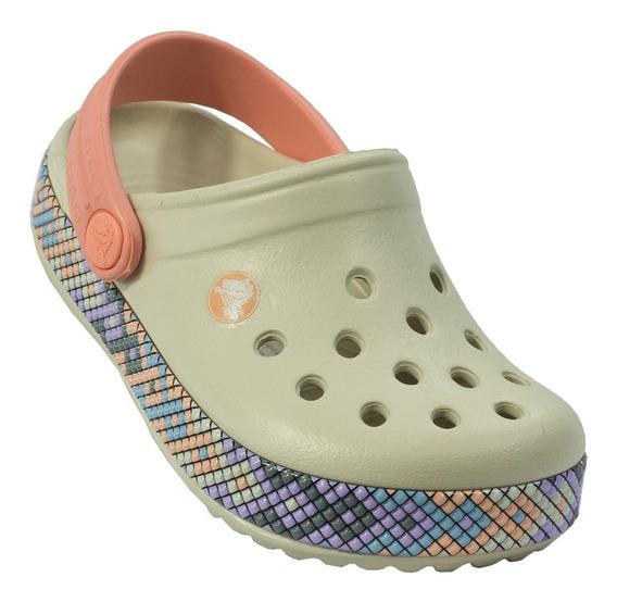Sandalia Infantil Crocs Crocband Gallery Clog K - 51838