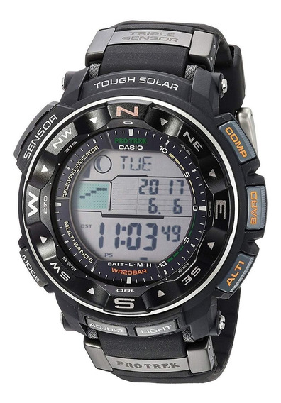 Relógio Protrek Tough Solar Prw-2500r-1cr