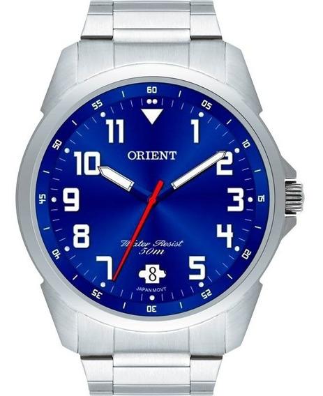 Relogio Masculino Orient Azul Mbss1154a D2sx
