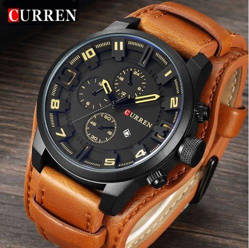 Relógio Curren Relogio Masculino Homens Relógio De Quartzo M