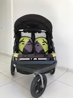 Carrinho De Bebê Para Gêmeos Pouco Usado