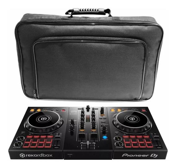 Controladora Pioneer Ddj 400 Rekordbox + Bag De Transporte
