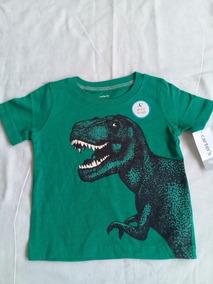 Blusa Dinossauro Carters Importada Original Infantil Bebê