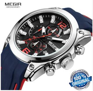 Relógio Masculino Megir Original Pronta Entrega