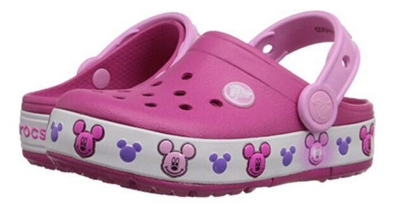 Crocs Kids Light Up Mickey Clog Luzes Que Acedem Ao Pisar