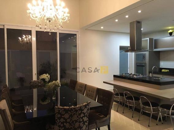 Casa Com 3 Dormitórios À Venda, 394 M² Por R$ 2.000.000 - Loteamento Residencial Jardim Dos Ipês Amarelos - Americana/sp - Ca0560