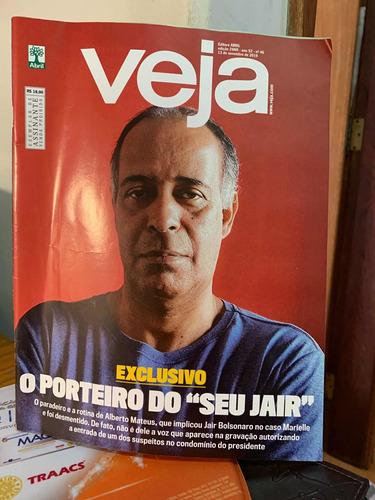 Imagem 1 de 1 de Veja Ed 2660 Novembro 2019 O Porteiro Do Seu Jair